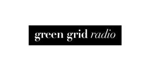 Green Grid Radio Logo - Black (web)