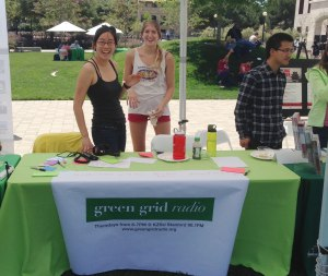 Diane Wu and Mallory Smith at the Celebrating Sustainability Fair