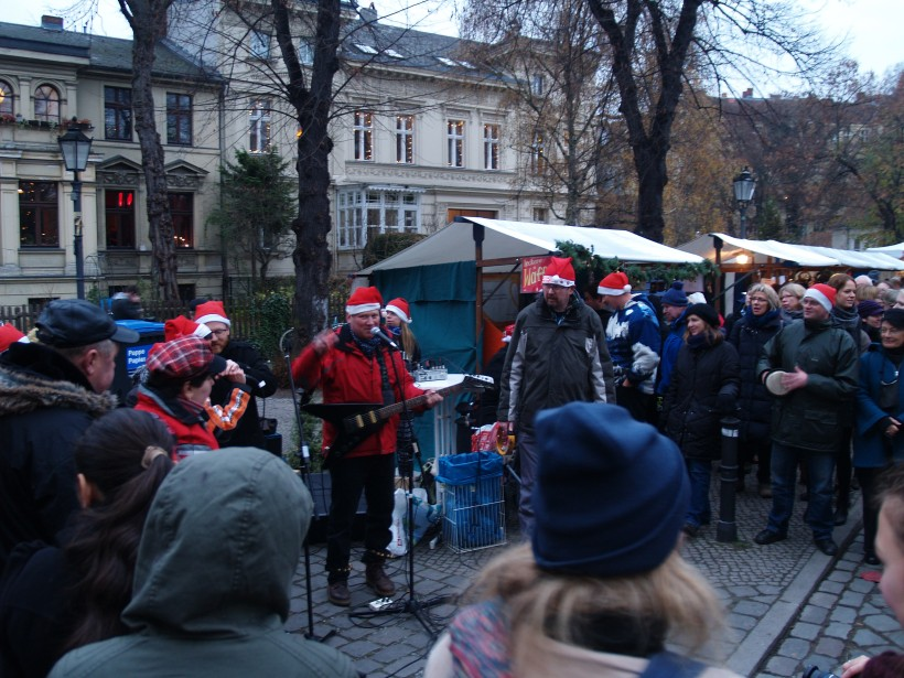 Neighborhood performers